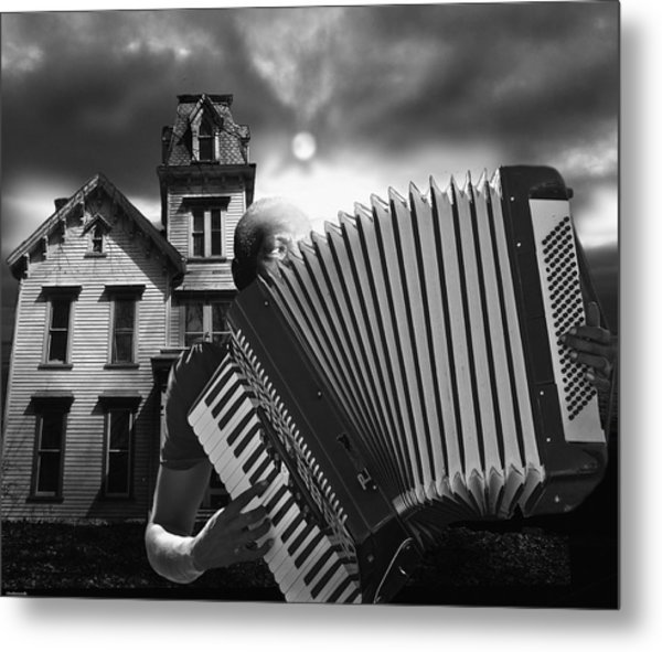 Zydeco Blues Metal Print by Larry Butterworth