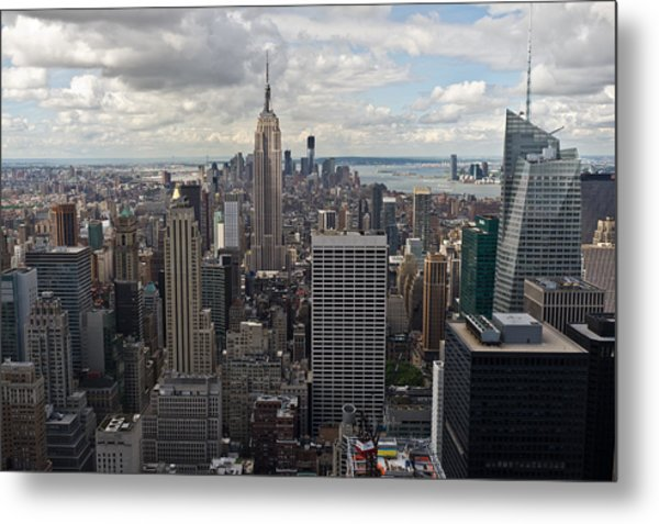 Midtown Manhattan Metal Print