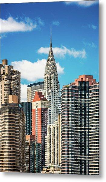 Midtown Manhattan, New York City, Usa Metal Print by Mbbirdy