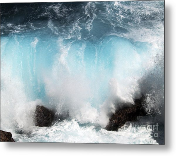 Might And Power Metal Print