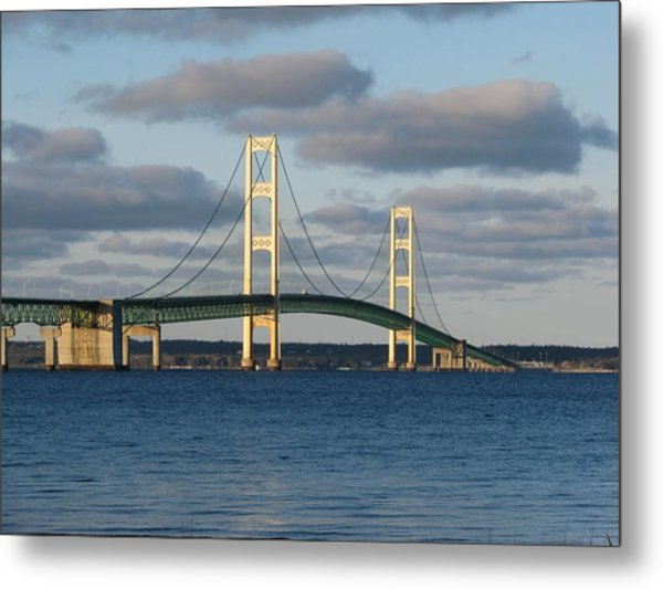 Mighty Mac In December Metal Print