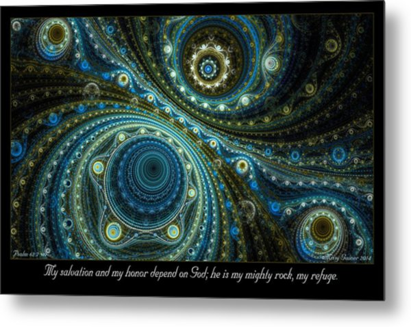 Mighty Rock Metal Print