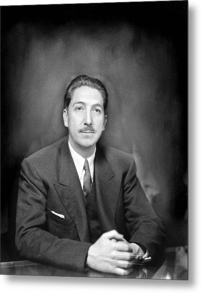 Miguel Alem�n (1900-1983) Metal Print by Granger
