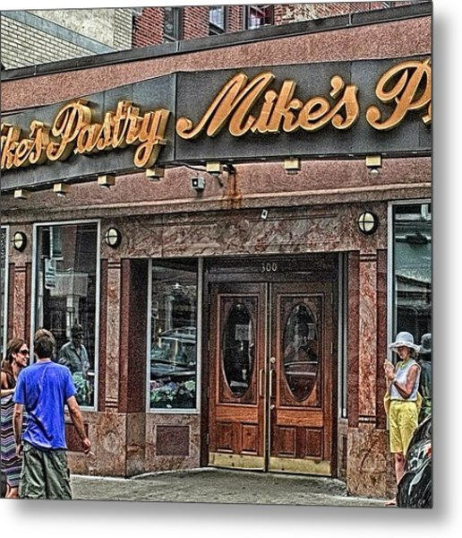 Mike's Pastry In The Heart Of Metal Print