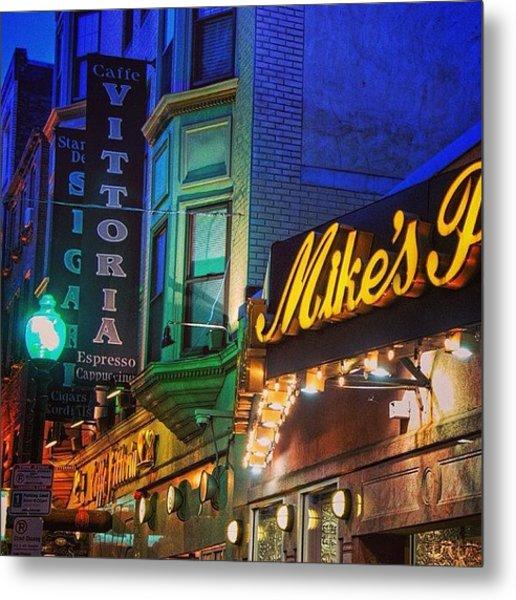 #mikespastry  #boston #restaurant Metal Print