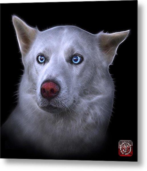 Mila - Siberian Husky - 2103 - Bb Metal Print