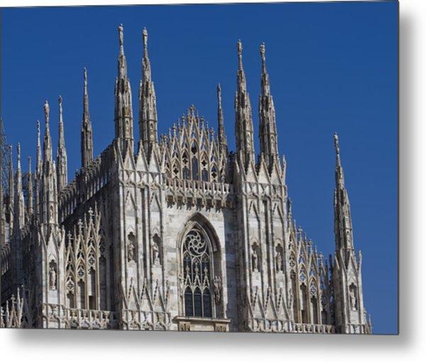 Milano Dome Detail Metal Print by Ioan Panaite