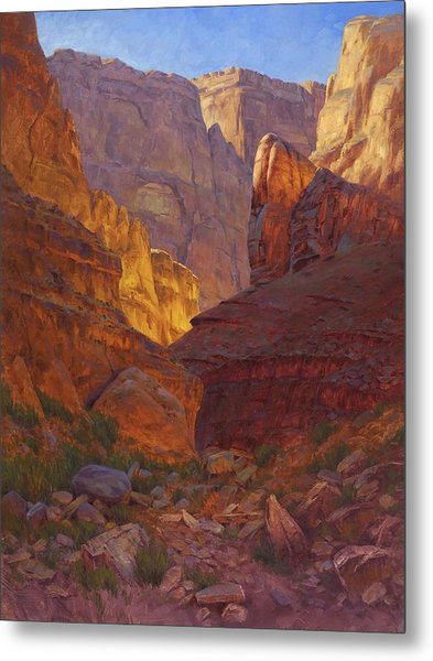 Mile 202 Canyon Metal Print