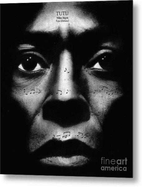 Miles Davis Tutu Metal Print