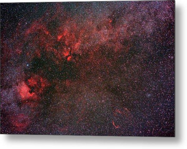 Milky Way And Cygnus Metal Print by Babak Tafreshi
