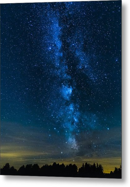 Milky Way Cherry Springs Metal Print