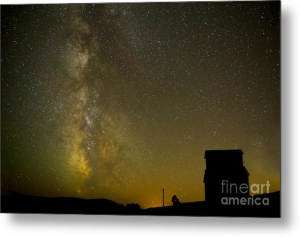 Milky Way Lights The Way. Metal Print by Jackie Follett