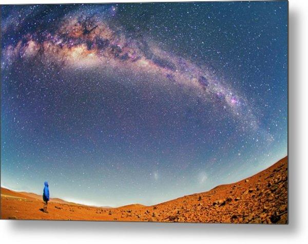 Milky Way Over The Atacama Desert Metal Print by Juan Carlos Casado (starryearth.com)