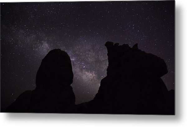Milky Way Over The Seven Sisters 5  Metal Print