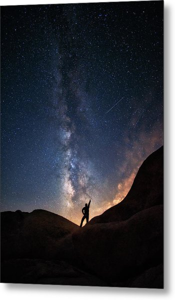 Milky Way Metal Print by Piriya Photography