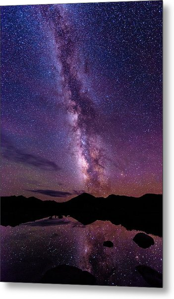 Milky Way Reflections Metal Print