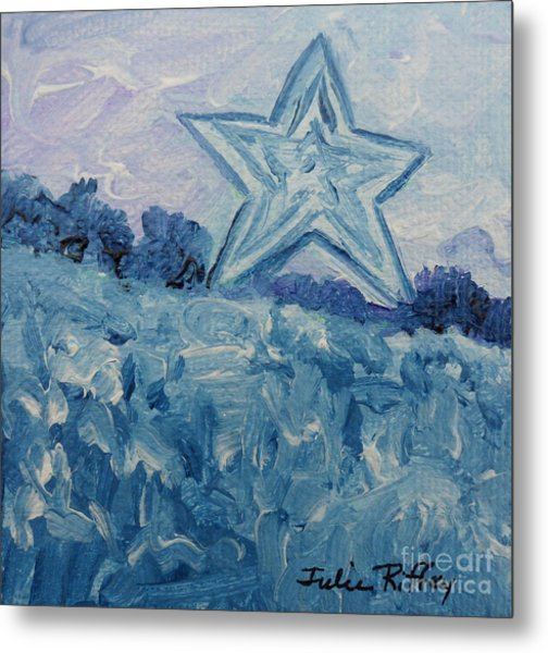 Mill Mountain Star Metal Print