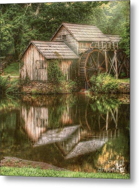 Mill On The Blue Ridge  Metal Print