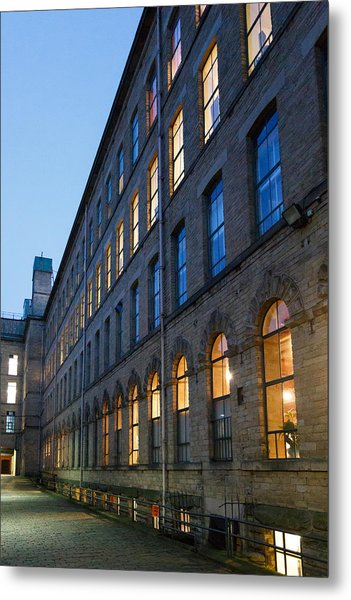 Metal Print featuring the photograph Mill Perspective by Paul Indigo