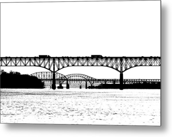 Millard Tydings Memorial Bridge Metal Print