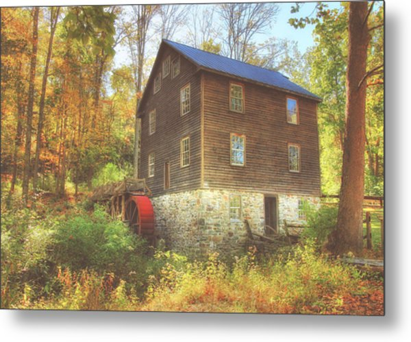 Millbrook Grist Mill  Metal Print
