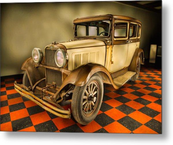 Millers Chop Shop 1929 Dodge Victory Six Before Metal Print