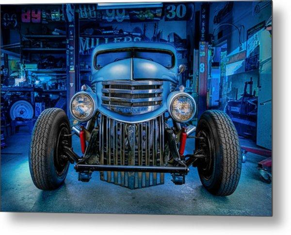 Millers Chop Shop 1946 Chevy Truck Metal Print