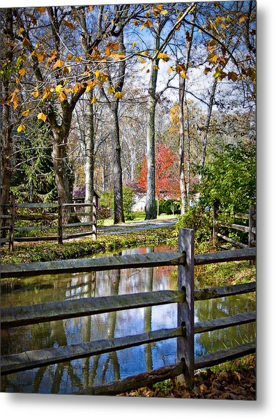 Millwood Metal Print by Williams-Cairns Photography LLC
