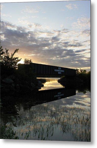 Milo Town Of Three Rivers Metal Print
