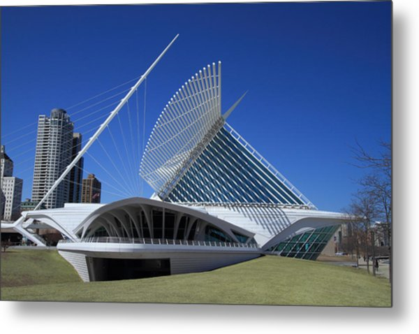 Milwaukee Art Museum - Calatrava Metal Print by James Hammen