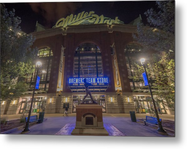 Milwaukee Brewers Miller Park 2 Metal Print