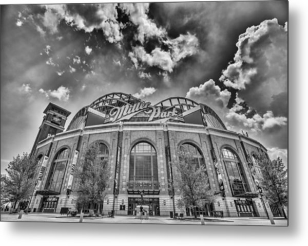 Milwaukee Brewers Miller Park 7 Metal Print