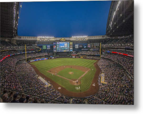Milwaukee Brewers Metal Print