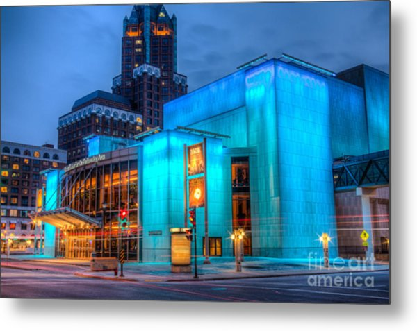 Milwaukee Pac Evening Glow Metal Print