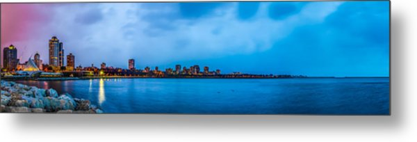 Milwaukee Skyline - Version 2 Metal Print