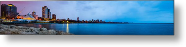 Milwaukee Skyline - Version 1 Metal Print