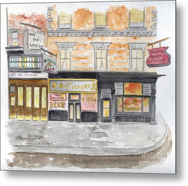 Minetta Tavern  Greenwich Village Metal Print