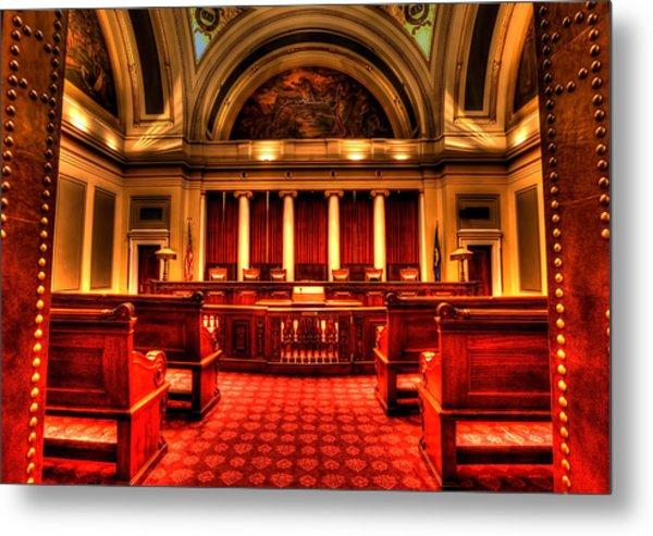 Minnesota Supreme Court Metal Print