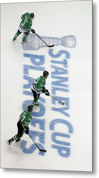 Minnesota Wild V Dallas Stars - Game Two Metal Print
