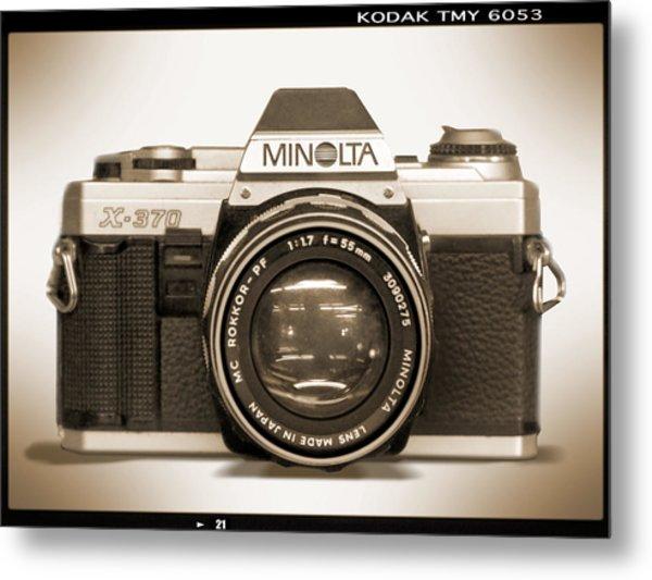 Minolta X-370 Metal Print