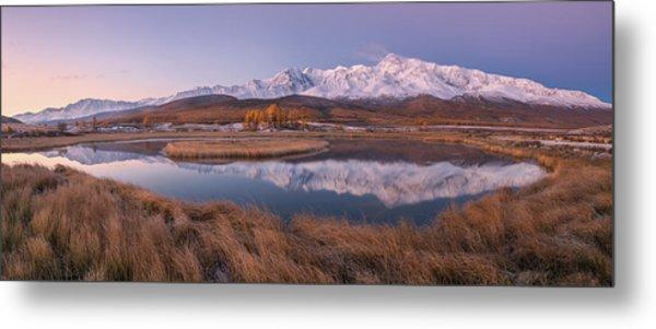 Mirror For Mountains 2 Metal Print