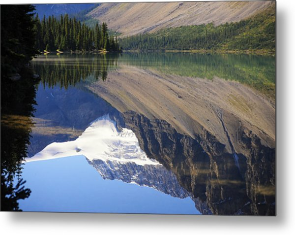 Mirror Lake Banff National Park Canada Metal Print