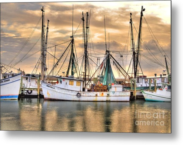 Miss Hale Shrimp Boat Metal Print
