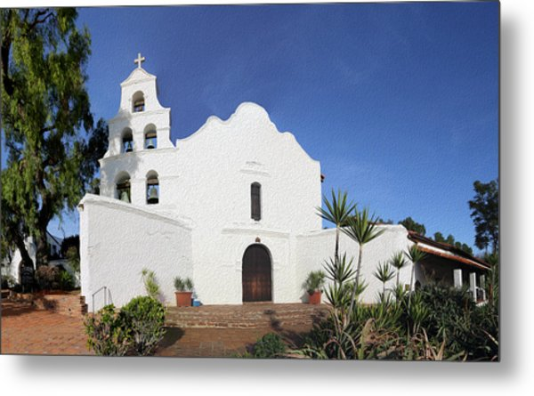 Mission Basilica San Diego De Alcala Metal Print
