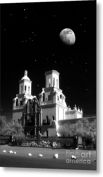 Mission Del Bac Metal Print by Robert Kleppin