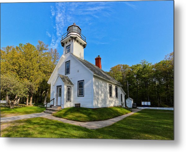 Mission Point Lighthouse 1 Metal Print