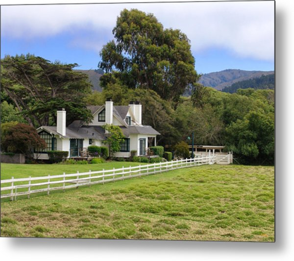 Mission Ranch - Carmel California Metal Print