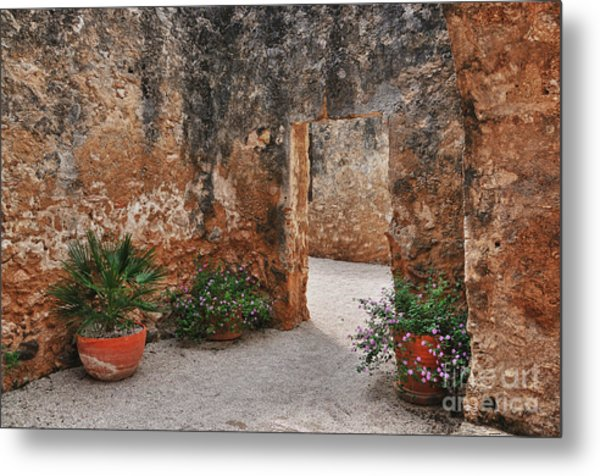 Mission San Jose At San Antonio Texas Metal Print