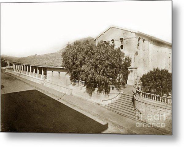 Mission San Luis Obispo De Tolosa California 1880  Metal Print