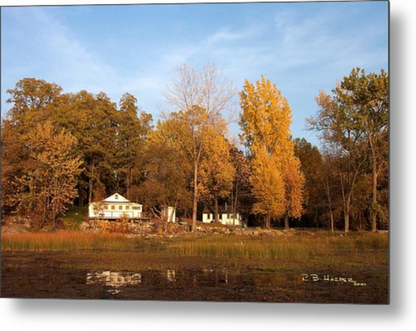 Missisquoi Bay Camps Metal Print
